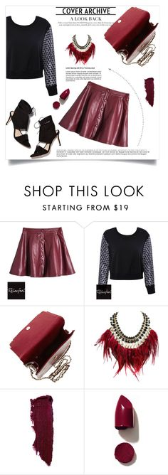 """""""Relaxfeel"""" by amra-mak ❤ liked on Polyvore featuring Relaxfeel, Loeffler Randall, WithChic, Lipstick Queen and NARS Cosmetics"""