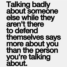 To all the shit talkers out there: