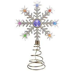 WeRChristmas Pre-Lit 32 cm Santa Christmas Tree Topper Decoration with 8 Colour Changing LED Lights WeRChristmas http://www.amazon.co.uk/dp/B00JVOMVLC/ref=cm_sw_r_pi_dp_3unJub0H902AQ