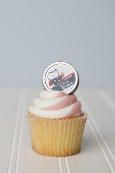 Cupcake Lip Balm Tin