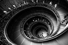 Escalier du vatican - escalier de Bramante