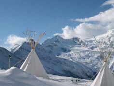 Kinderland Kreuzboden Saas Fee, Mount Everest, Mountains, Nature, Travel, Winter Landscape, Naturaleza, Viajes, Trips