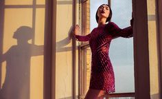 DINARA CHETYROVA POSES IN THE EMIPIRE CITY FOR MABEL MAGALHARES' F/W 2013 CAMPAIGN BY GUSTAVO MARX