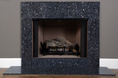 Blue Pearl Granite | Fireplace Surround Facing | MantelCraft