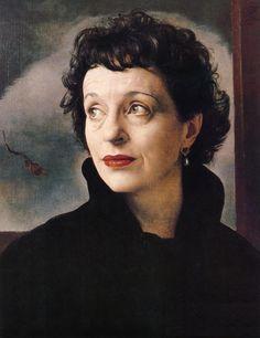 Pietro Annigoni: Portrait of a Woman, 1951  Such an interesting, intelligent, attractive face!