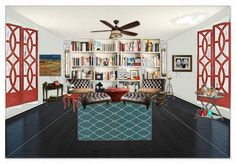 Library room….