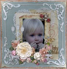 baby blues--PION DESIGN - Scrapbook.com