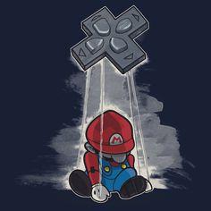 Mario puppet by Harantula