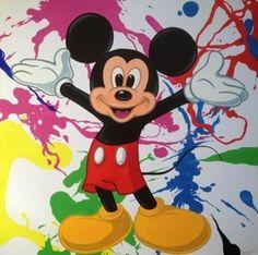 Mickey Canvas Custom Canvas, Mickey Mouse, Disney Characters, Fictional Characters, Art, Custom Screens, Art Background, Kunst, Gcse Art