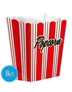 Large Movie Night Popcorn Boxes - Party City