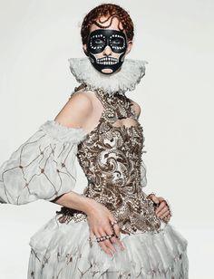Kirsi Pyrhonen & Magdalena Jasek  by Richard Burbridge for Dazed & Confused November 2013