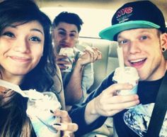 starbeamed:  14) Picture of the trio Lol they're awesome…and Mcflurries are da bomb diggity.
