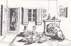 Santeos: Η παράδοση κατά το μήνα Φλεβάρη στη Σαντά του Πόντ... Folk Dance, Traditional, Greek, Painting, Clothes, Art, Outfits, Art Background, Clothing