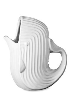 whale water pitcher. love