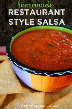This salsa is AMAZING!