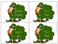 Free! St. Patrick's Day Comparing and Contrasting Freebie! 8 pages