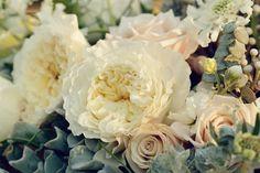English Garden Wedding Arrangement