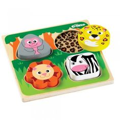 Love this Touch & Feel jigsaw puzzle!
