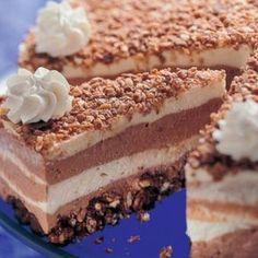 Hungarian Recipes, No Bake Desserts, Baking Desserts, Tiramisu, Ethnic Recipes, Cakes, Christmas, Caramel, Xmas