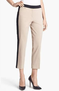 Chaus Colorblock Crop Pants available at #Nordstrom