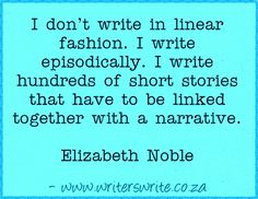 Quotable – Elizabeth Noble – Writers Write