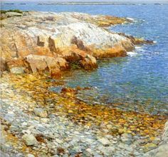 Childe Hassam (1849-1935): Isles of Shoals, Broad Cove, 1911