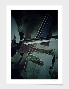 «Cello», Limited Edition Fine Art Print by Galen Valle - From $29 - Curioos Cello Art, Mixed Media Artists, Fine Art Prints, Ink, Artwork, Gifts, Design, Musik, Work Of Art