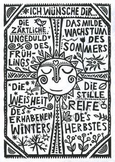ich wünsche dir #deutsch Ich understanden kine dies ist veir Seasons...Ich denke :-D