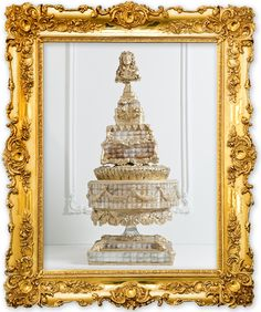 hall of mirrors cake by Alexandria Pellegrino of Cake Opera Co.