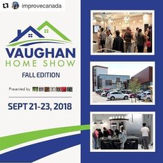 Join us in two weeks for Improve Canada's Fall Home Show. We'll be featuring some exciting products and there just may be a special promotion during the show!!  Stay tuned!  #Repost @improvecanada (@get_repost) ・・・ We hope you're sitting down because we have some exciting news. Improve Canada's next home show, The Vaughan Home Show - Fall Edition, is right around the corner. 😍🙌 Save the date for September 21 - 23 as we'll be showcasing the latest fall home improvement trends. Exciting News, Special Promotion, Next At Home, Autumn Home, Ontario, Home Improvement, Presents, September 21, Stay Tuned