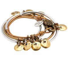 Goldie Leather Wrap Bracelet - Lizzy James Jewelry