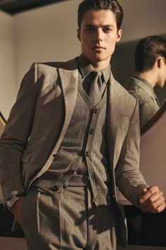 Stylish Mens Outfits, Casual Outfits, Men Casual, Suit Fashion, Mens Fashion, Fashion Outfits, Preppy Fall, Designer Suits For Men, Look Man