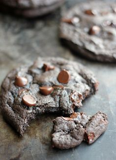 OMG-Cayenne and Cinnamon with chocolate is the best combo EVER!!!   Spicy Dark Chocolate and Cinnamon Cookies - Baker Bettie