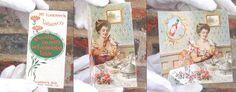 Esta imagen muestra lo que fue una tarjeta promocional de Tabasco en el año 1899, la ilustración muestra elementos del estilo Victoriano de la época, se muestra una mujer a punto de darse una comilona de ostras con su chile Tabasco :)