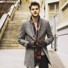 Men's winter classy coats and winter jackets can be tough to find. But fear not, I'm here to help you! Here are my men's coats that will make heads turn. Slim Suit, Suit Up, Men's Coats And Jackets, Winter Jackets, Warm Coat, Winter Wear, Casual Winter, Latest Fashion Clothes, Mens Fashion