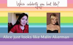 Check My Results Of Which Celebrity You Look Like Facebook Fun App By Clicking Visit Site Button Alice Millares Birthday Wishes