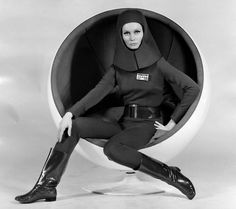 "retro_futurism: Catherine Schell in ""Moon Zero Two"", 1969"