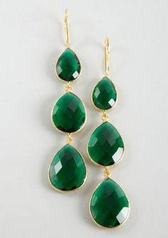http://www.bluefly.com/Vanhi-green-triple-drop-earrings/p/321548901/detail.fly Angelina Emerald