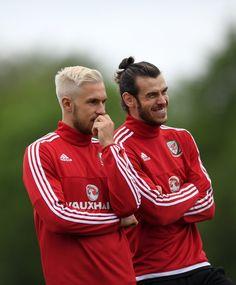 Gareth Bale & Aaron Ramsey Wales