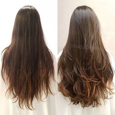 Note the life that hair won with only the first cut, without much taking the length, could satisfy the customer! ✂️👏🏻👏🏻 If you& hair like that, and afraid to cut already know who to look for! Long Layerd Hair, Long Layered Curly Hair, Haircuts For Long Hair With Layers, Haircuts Straight Hair, Long Layered Haircuts, Long Hair Cuts, Long Hair Styles, Hair Looks, Hair Lengths
