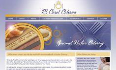 Web design for NJ Kosher Caterers. #website #websites #websitedesign #design #development #webdevelopment