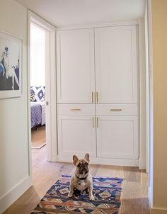 3 Young Clever Tips: Bedroom Remodel On A Budget Awesome girls bedroom remodel built ins.Bedroom Remodel Before And After Spaces master bedroom remodel rustic. Hallway Cabinet, Hallway Closet, Bathroom Closet, Closet Bedroom, Closet Doors, Cabinet Doors, Diy Bedroom, Master Bedroom, Bathroom Wall