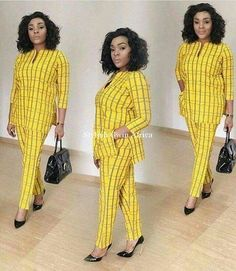 Senator Suit Styles For Ladies by laviye Latest African Fashion Dresses, African Dresses For Women, African Print Dresses, African Print Fashion, African Attire, African Women, Africa Fashion, Ankara Fashion, African Prints