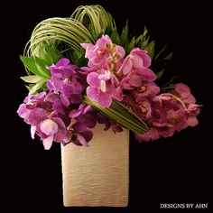 Orchids + Grasses - Designs by Ahn