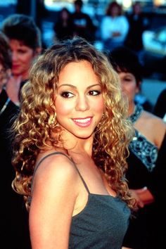 Mariah Carey-Remember when Mimi was a curly-maned goddess with a closet full of LBDs and Sexy Santa outfits?