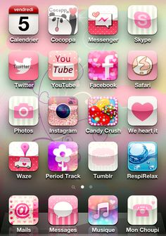 Najbardziej popularne znaczniki tego obrazu obejmują: i-fun, girly, icons, iphone i pink