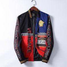 Versace Slippers, Versace Boots, Versace Jacket, Balenciaga T Shirt, Versace Fashion, Versace Men, Versace Tracksuit, Designer Jackets For Men, Versace Shirts