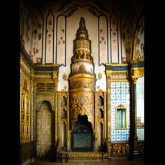 The Fireplaces of Topkapi Palace, Istanbul, Turkey: