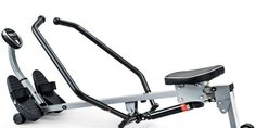 Sunny Health and Fitness SF-RW1410 Rowing Machine with Full-Motion Arms