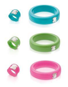Tous pulseras  ~ anillos Resina